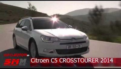 Nuova Citroen C5 Crosstourer 2014