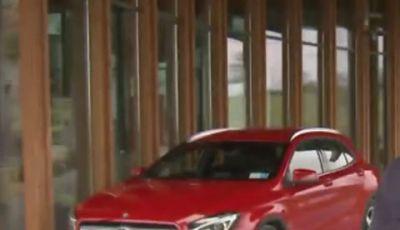 Mercedes GLA 45 AMG a Detroit 2014