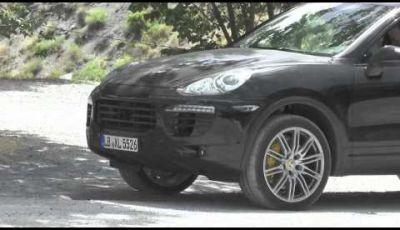 Porsche Cayenne Facelift video spia