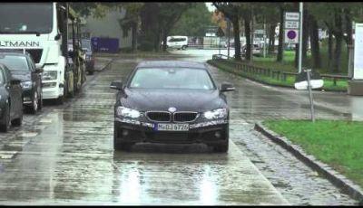 BMW Serie 4 Gran Coupé video spia dei test su strada