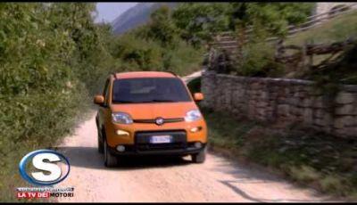 Nuova Fiat Panda 4×4 prova su strada del piccolo Suv del Lingotto
