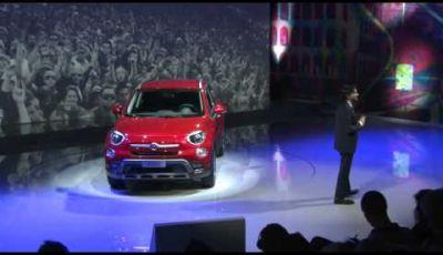 Fiat 500X, la presentazione ufficiale alla stampa internazionale