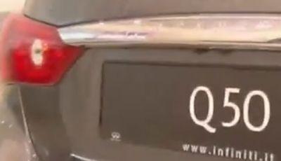 Nuova Infiniti Q50 test drive
