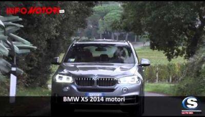 Nuova BMW X5 la gamma motori