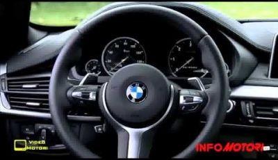 BMW X6 seconda generazione il video ufficiale