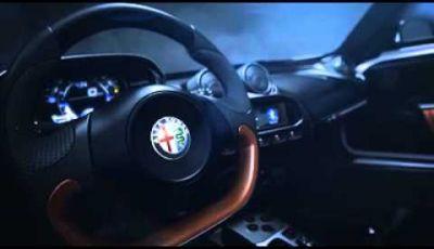 Alfa Romeo 4C Spider il video ufficiale