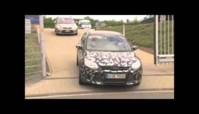 Ford Focus ST spy video