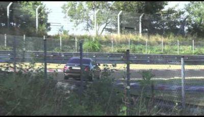 Mercedes Classe S XL video spia a Nürburgring