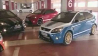Video Ford Focus RS Le Mans