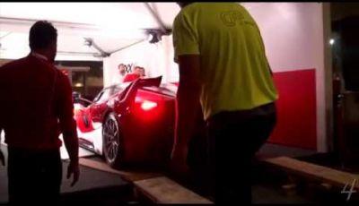 Nuova Ferrari FXX K sound Finali Mondiali 2014