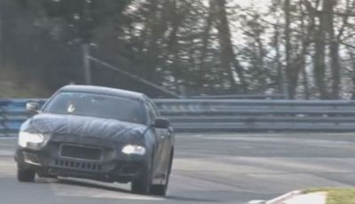 Maserati Quattroporte video spia al Nurburgring