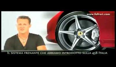 Video Schumacher e Ferrari 458 Italia
