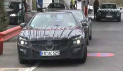 Video Mercedes SL Spy