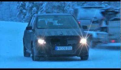Video Mercedes Classe B Spy