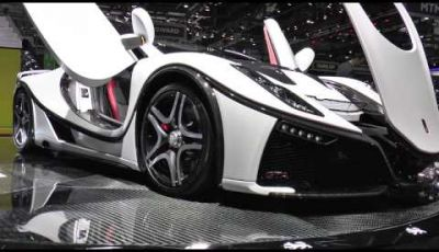 GTA Spano, la supercar a Ginevra 2015