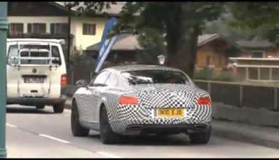 Bentley Continental video spia