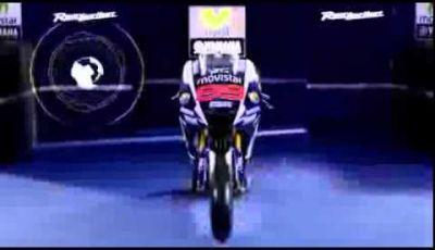 Presentazione della Yamaha YZR-M1 2015 MotoGP