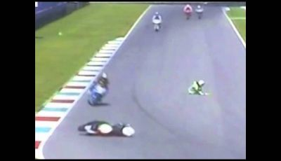 Niccolò Canepa, incidente al Mugello 23. 09.2013