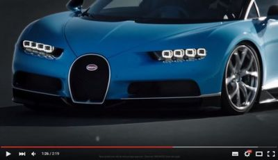 Bugatti Chiron: La World Premiere