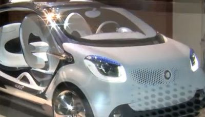 Smart Fortwo trasformata in dragster video