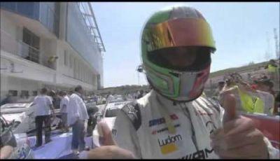 Teaser Vallelunga – Luizzi e Mercedes C 63 AMG
