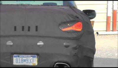 Hyundai Genesis Coupé video spia dalla Death Valley