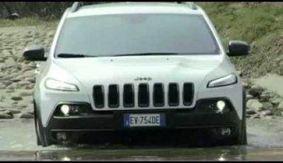 Nuova jeep cherokee provata offroad