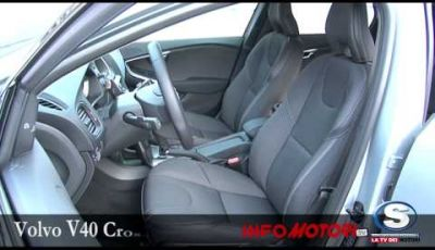 Volvo V40 Cross Country, prova su strada