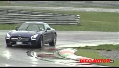 Franciacorta Mercedes-Benz AMG GTS-Infomotori Driving Experience