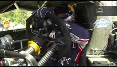 Sebastien Loeb e il nuovo record con la Peugoet 208 al Pikes Peak 2013