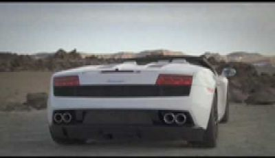 Video Lamborghini Gallardo LP560-4 Spyder