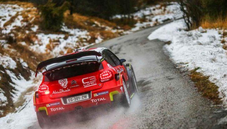 Rally di Montecarlo: i numeri di Citroën Racing - Foto 2 di 3