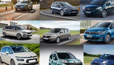 Le 10 migliori autovetture economiche a 7 posti: quali scegliere