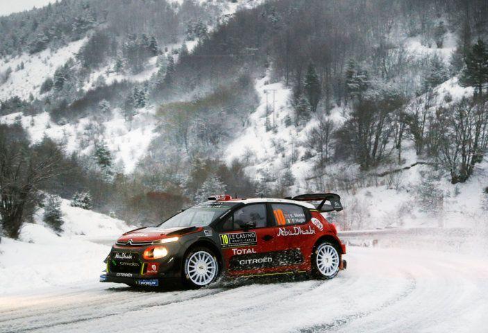 WRC Monte Carlo – Giorno 3: le due C3 WRC risalgono la classifica - Foto 2 di 4