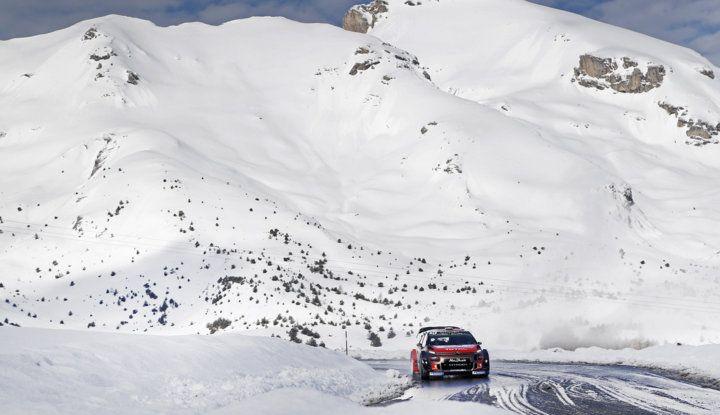 WRC Monte Carlo – Giorno 3: le due C3 WRC risalgono la classifica - Foto 3 di 4