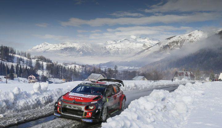 WRC Monte Carlo – Giorno 3: le due C3 WRC risalgono la classifica - Foto 4 di 4