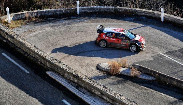 WRC Monte Carlo Giorno 4: la Citroën C3 WRC di Kris Meeke termina al quarto posto assoluto. - Foto 2 di 4