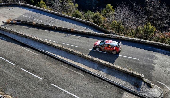 WRC Monte Carlo Giorno 4: la Citroën C3 WRC di Kris Meeke termina al quarto posto assoluto. - Foto 3 di 4