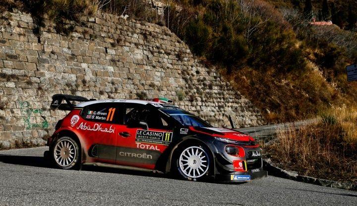 WRC Monte Carlo Giorno 4: la Citroën C3 WRC di Kris Meeke termina al quarto posto assoluto. - Foto 4 di 4
