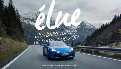 Alpine A110 premiata come Auto più Bella dell'anno a Parigi