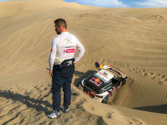 Dakar 2018 – Sebastien Loeb e Daniel Elena (team Peugeot Total) costretti ad abbandonare - Foto 1 di 2