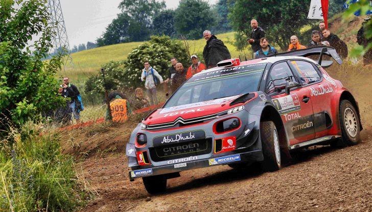 VIDEO – Rally Polonia 2017, la sorpresa Lefebvre di Citroën - Foto 3 di 4