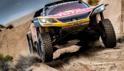 Dakar 2018 – Sainz / Cruz vincono a Uyuni e prendono il comando della gara