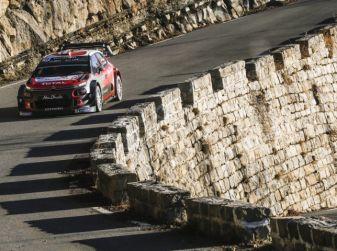 WRC Monte Carlo Giorno 4: la Citroën C3 WRC di Kris Meeke termina al quarto posto assoluto.