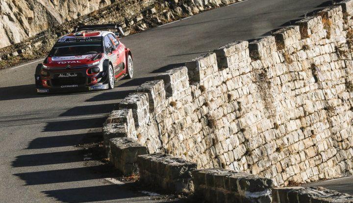 WRC Monte Carlo Giorno 4: la Citroën C3 WRC di Kris Meeke termina al quarto posto assoluto. - Foto 1 di 4