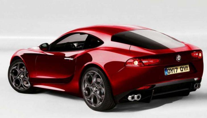 Alfa Romeo 6C, la nuova sportiva del Biscione arriva nel 2020 - Foto 2 di 10