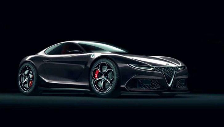 Alfa Romeo 6C, la nuova sportiva del Biscione arriva nel 2020 - Foto 3 di 10