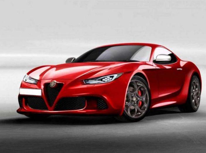 Alfa Romeo 6C, la nuova sportiva del Biscione arriva nel 2020 - Foto 1 di 10