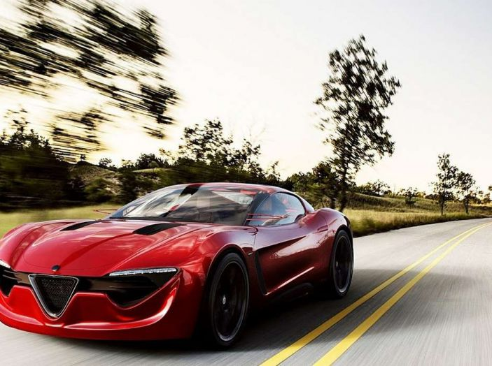 Alfa Romeo 6C, la nuova sportiva del Biscione arriva nel 2020 - Foto 5 di 10