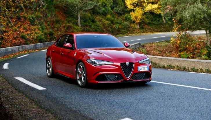 Alfa Romeo Giulia Tech Edition: Infotainment aggiornato e lusso da 32.500€ - Foto 7 di 12